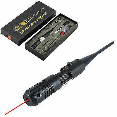 Hunting Gun .22 to .50 Caliber Red Dot Laser Sight Bore Sighter Calibrate Scopes