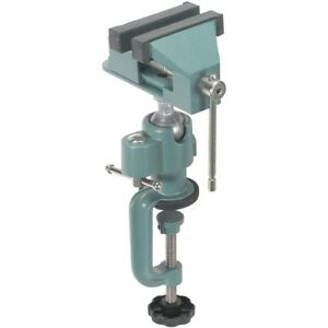 Universal-Table-Bench-Vise-3-034-Work-Bench-Clamp-Swivel-Rotating-Hobby-Craft-NEW