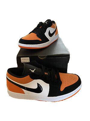 nike air jordan orange low