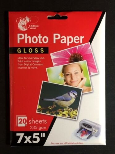 PHOTO PAPER High-Quality Glossy Photo Paper for Inkjet Printers CHOOSE SIZE