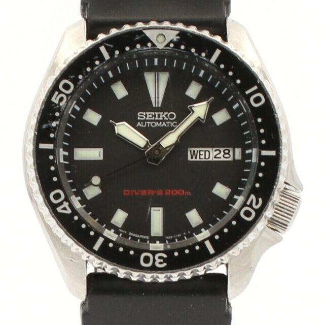 Dial of Seiko Automatic  Diver/'s 200m Black color 7s26 good condition
