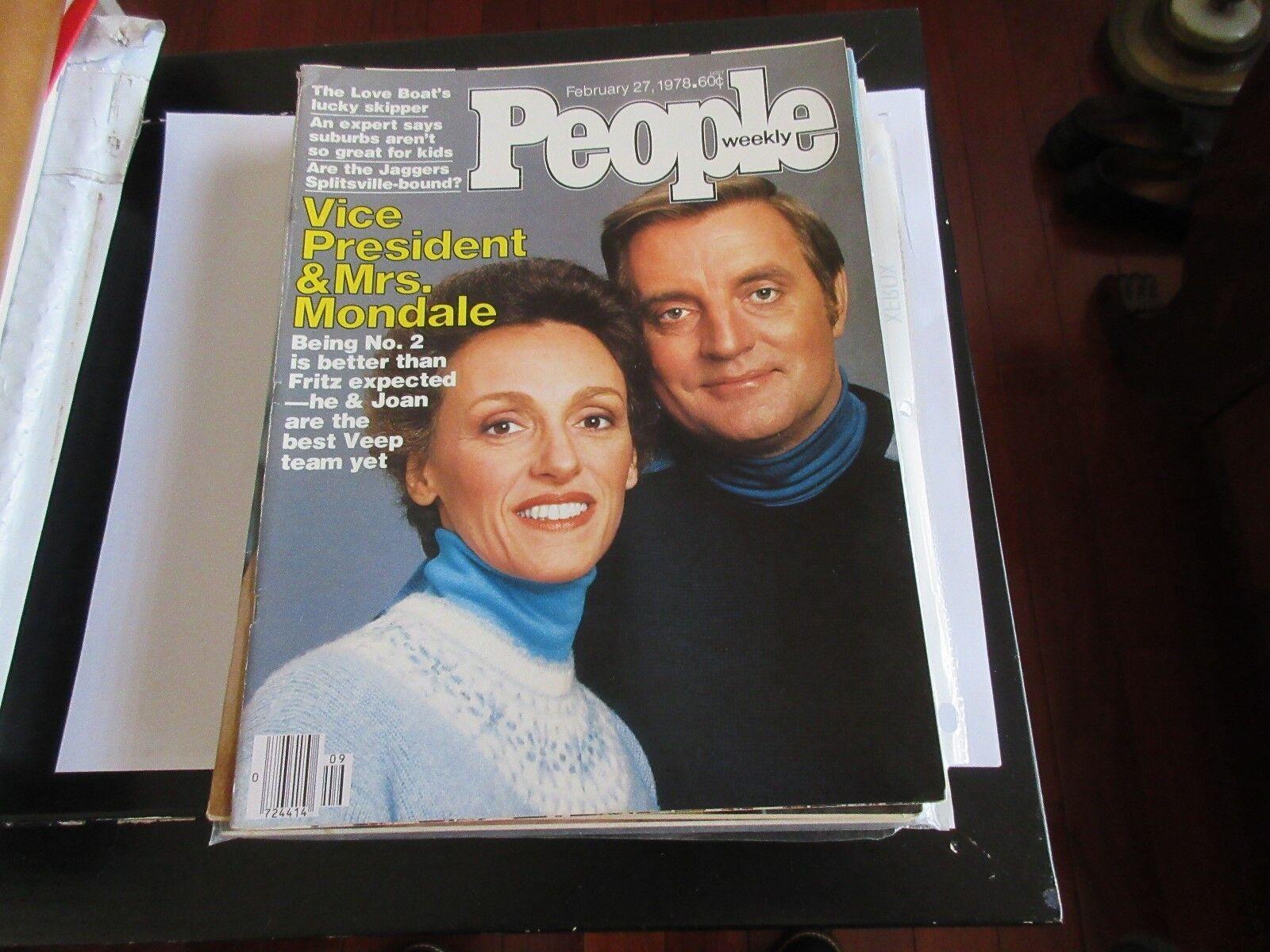 Vice President & Mrs. Mondale , People Magazine , 2/27/