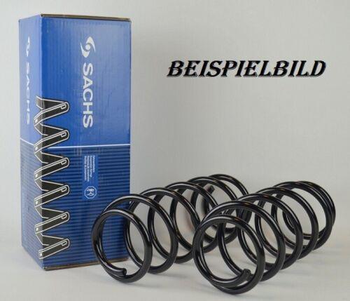 2x Sachs 994259 Federn Fahrwerksfedern Hinten FORD FIESTA VI 1.0-1.6D