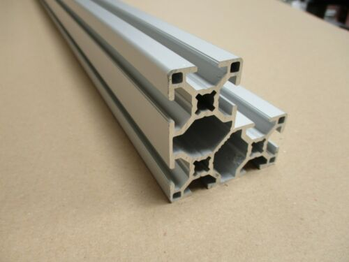 "306060 Aluminium Extrusion//Profile 8mm  /""B/"" Style Slot"
