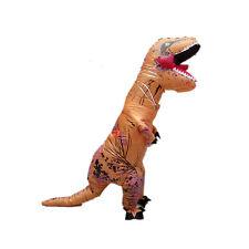 Inflatable Dinosaur Costume Adult T-Rex Jurassic Halloween Fancy Cosplay Dress