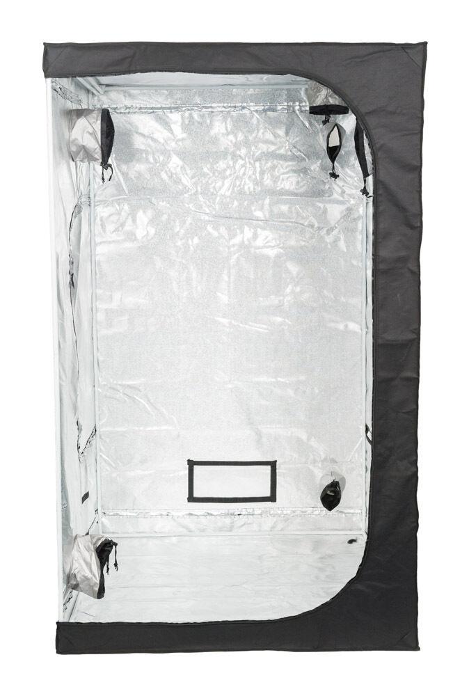 Senua Hydroponics Grow Tent Bud Room 120x120x200, 600D Marco de Acero de Mylar