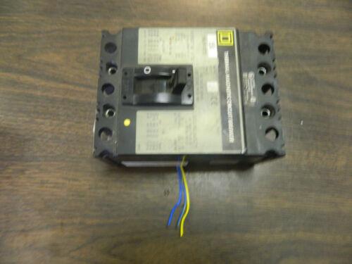 15 AMP Used Warranty Square D FAL340151212 Circuit Breaker
