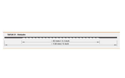 Bene 12 Lame Sega Fogliame, 130mm Per Legno E Plastica, Ben Dente, Tifone 51-r 130mm , Für Holz Und Kunststoff , Weitzahn , Taifun 51 It-it Mostra Il Titolo Originale