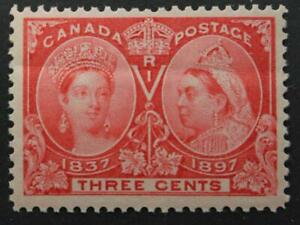 Canada-53-MNH-OG-Queen-Victoria-Jubilee-Issue-1897