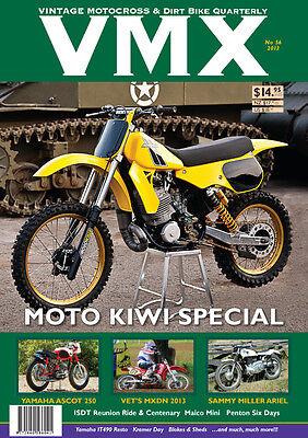 VMX Vintage MX /& Dirt Bike AHRMA Magazine Issue #25