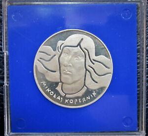 1974-Poland-100-Zlotych-Silver-Commen-celebrating-Nicolaus-Copernicus