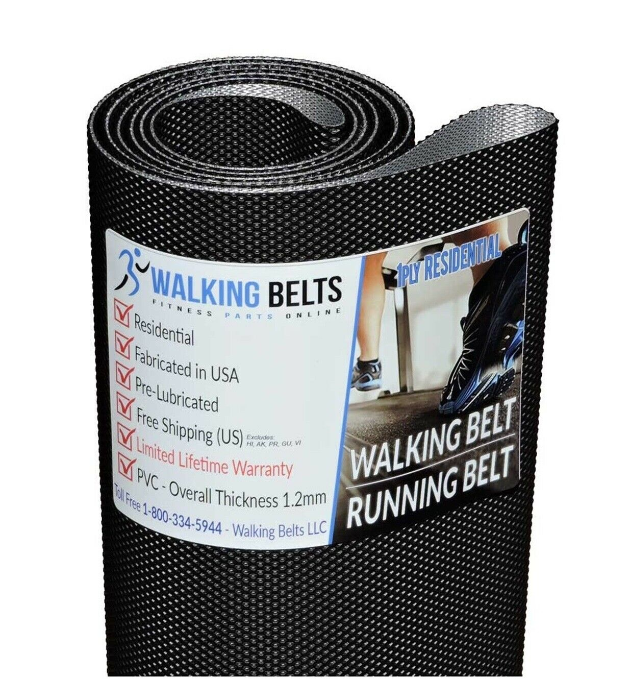 297190 Lifestyler Expanse 850 Treadmill Walking Belt + Free Free Free 1oz Lube ecfcc7