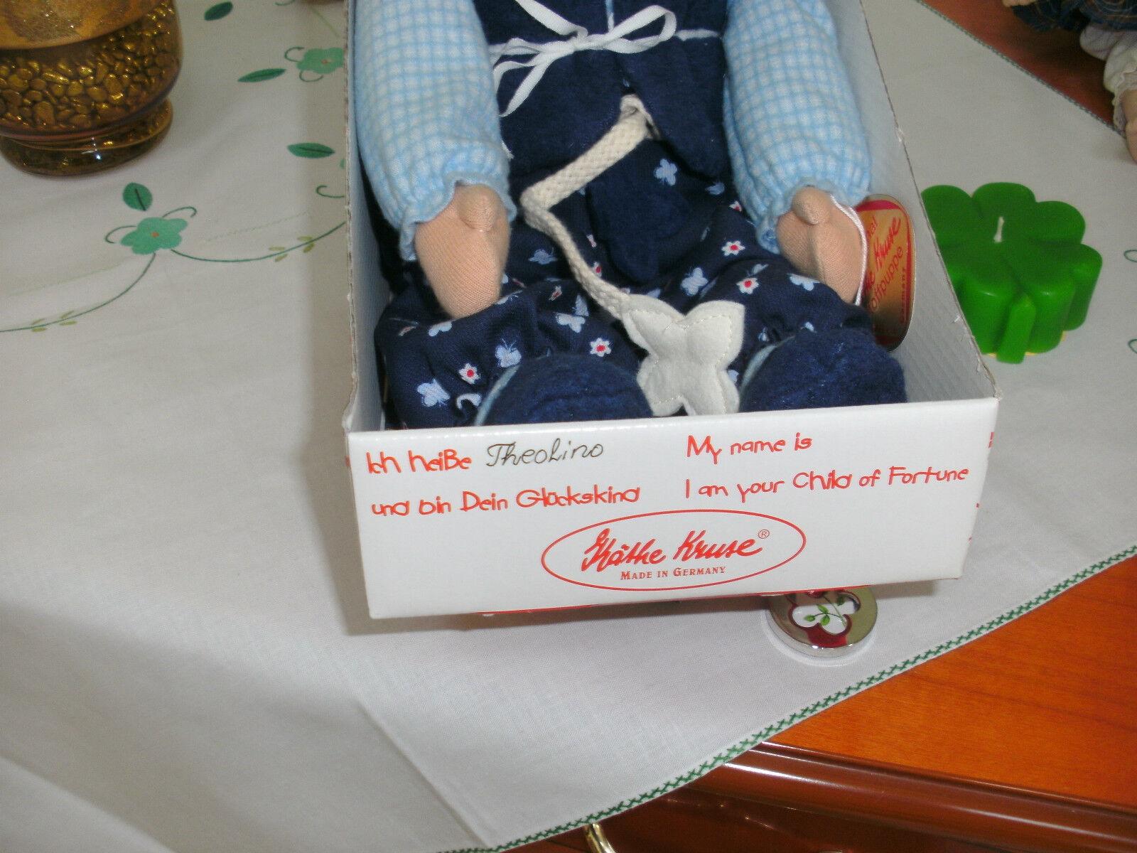 Künstler Künstler Künstler Puppe  Theolino  ca. von 2000 unbespielt Käthe Kruse Neu; OVP 1ae8f0