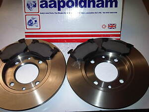CITROEN XANTIA BRAKE DISCS BRAKE PADS REAR HATCH SALOON NEW SET