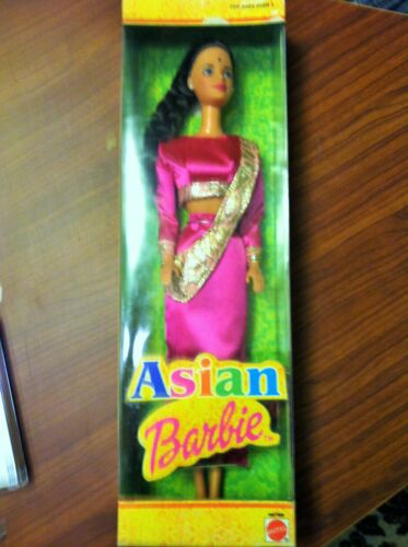 India Asian barbie Mattel Doll no more 500 items in world NRFB, New in box