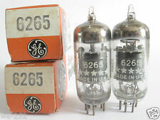 2 matched GE 5-Star 6265 (Special 6BH6) tubes @ 80, 83, min:50 (For Marantz 8B)