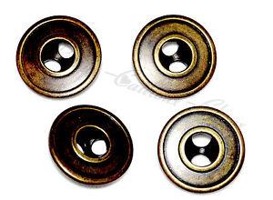 lot-de-4-BOUTONS-originaux-en-plastique-imitation-bronze-23mm-button