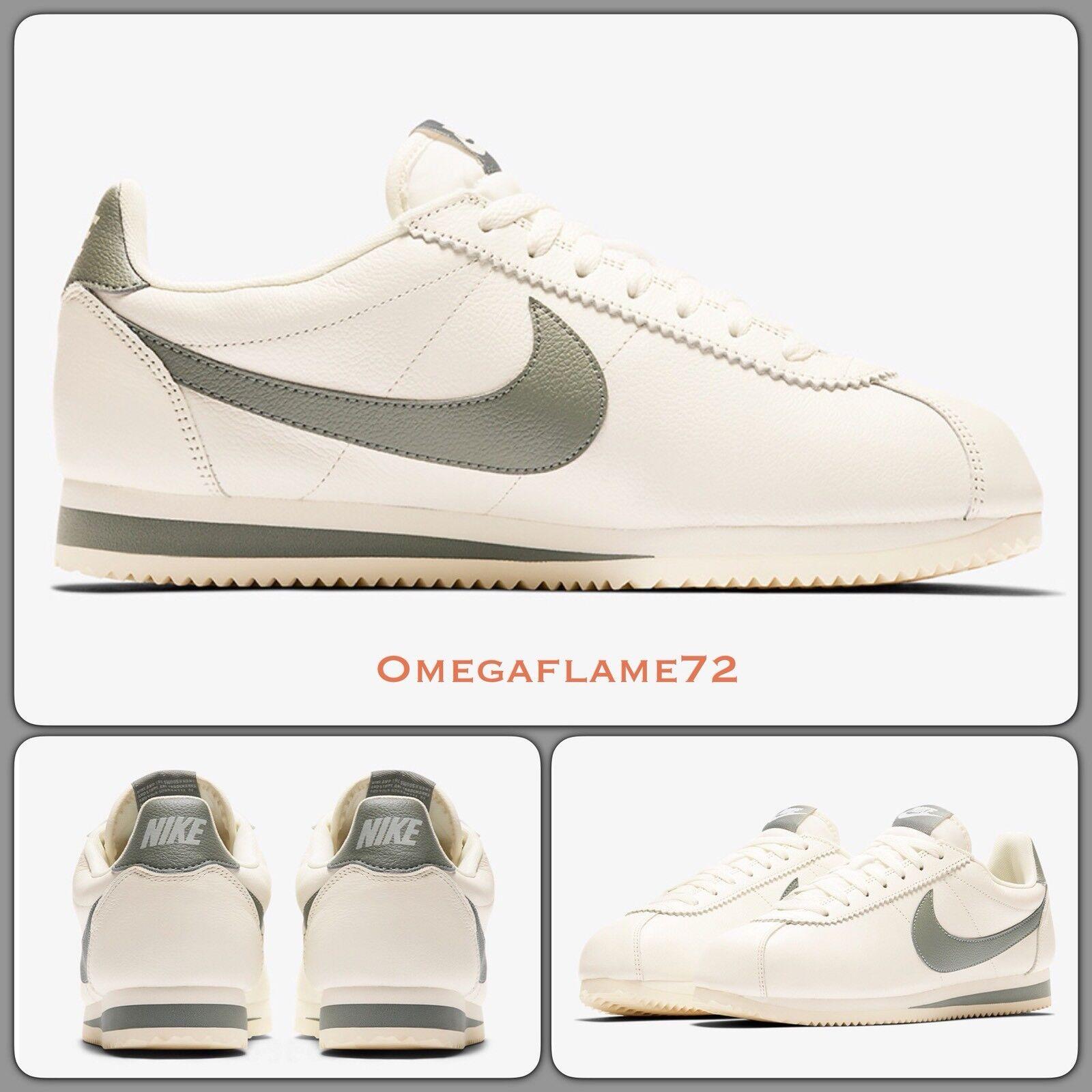 Nike Classic Cortez Leather SE, 861535-105, UK 9, EU 44, US 10, Sail-Dark Stucco
