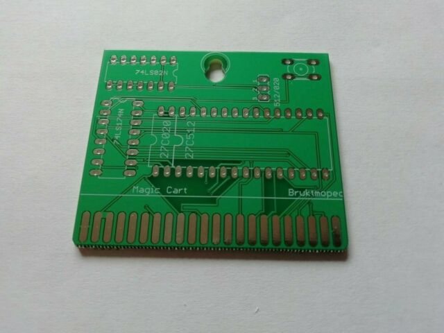 Commodore 64/128 Magic Cart PCB only.