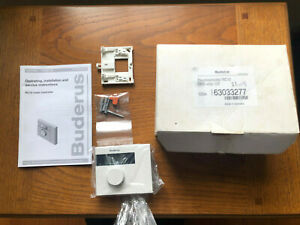 RC10 Raumcontroller for Buderus Boilers GB Model 63033277  Raum Control