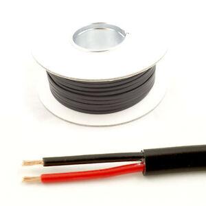 1mm2 paroi mince 2 twin core fil de câble voiture lumières led * 16.5 amp nominale