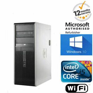 SUPER-VELOCE-Windows-10-HP-Elite-Pro-PC-Core-i5-8GB-500GB-WIFI-Ufficio