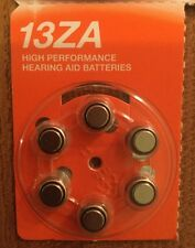 6 x Boots Zinc Air Hearing Aid Batteries 13ZA 1.45 V - Best Before May 2020