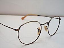 edcab72230 Authentic Ray-Ban RB 3447 167 2K Bronze-Copper Metal Sunglasses Frame  230