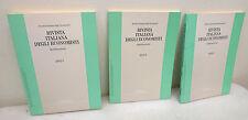 RIVISTA ITALIANA DEGLI ECONOMISTI 2002.The Journal,Italian Economic Association