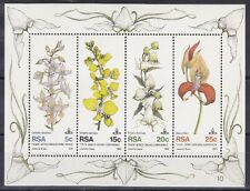 Sud Africa South Africa 1981 Bf 12 Orchidee MNH