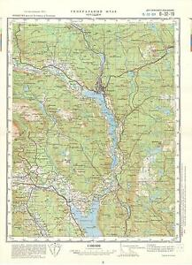 Russian Soviet Military Topographic Maps NOTODDEN Norway 1100