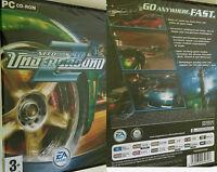 Pc Nfs Need For Speed Underground 2 Spiel Rennspiel Autospiel Autorennspiel Neu
