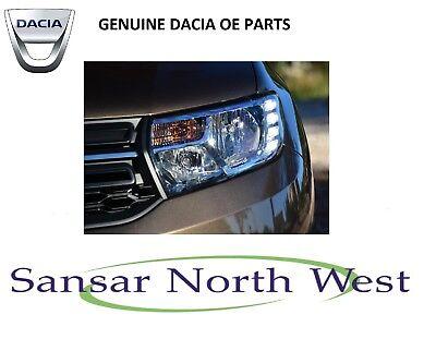Dacia Sandero Passenger side N//S Left Headlight Headlamp 8200733878
