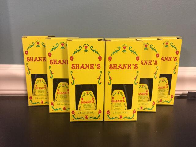 Shanks 2 oz Flavors Baking Cake Cookie Flavoring Since 1899 Shank's Lancaster PA