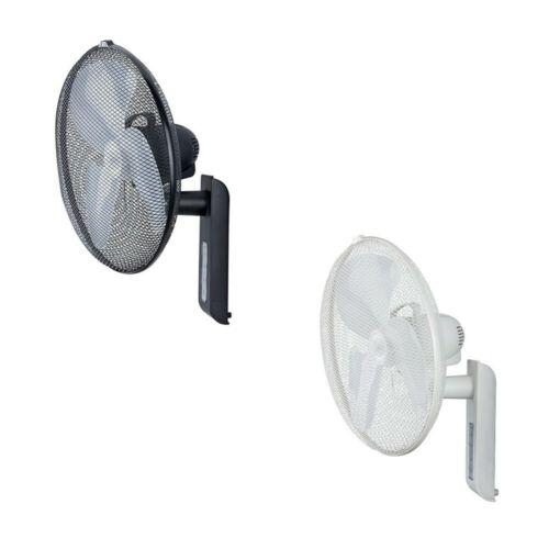Ventilateur mural avec télécommande et oscillation Greyhound gris clair