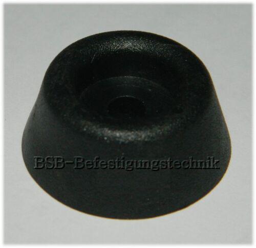 Gummifuß Gerätefuß Stopper 1 Stk Türpuffer Türstopper 28x12mm Gummipuffer