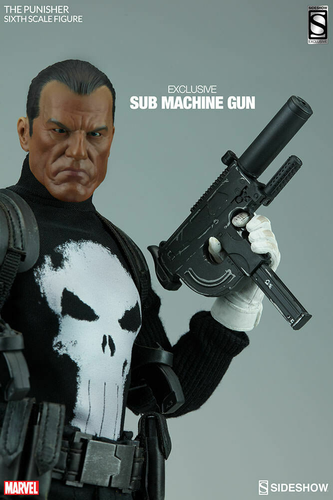 SIDESHOW 1 6 Scale THE PUNISHER MARVEL COMICS exclusive  12 Action Figure Statue