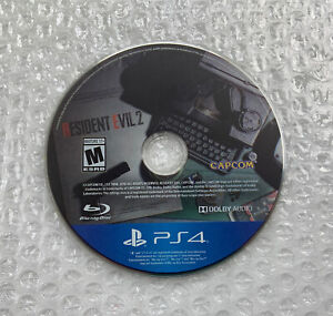 Resident Evil 2 (PlayStation 4, 2019) Disc Only, Tested and Working