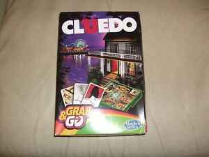 Grab Go Travel Cluedo Game Hasbro Gaming Ebay