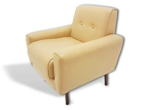 Sofas & Chaises Armchair Vintage Italian 60's Two Available Extremely Efficient In Preserving Heat Antiques