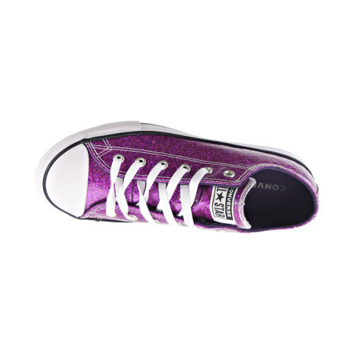 Converse Chuck Taylor All Star Gloss Ox Kids/' Shoes Grand Purple-Black 665980C