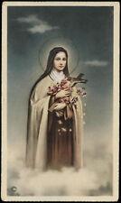 "santino-holy card""""ediz. NB serie L  n.546 S.TERESA DI GESU' BAMBINO"