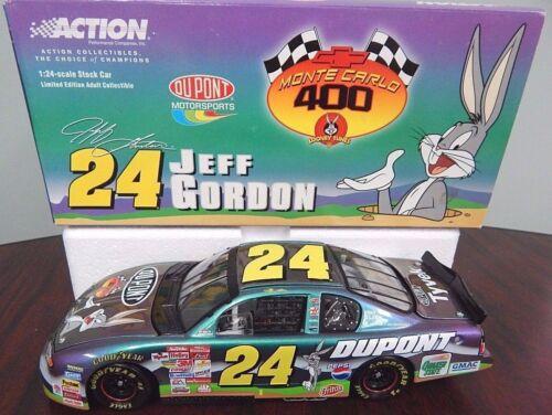 Action 2001 Jeff Gordon #24 DuPont// Looney Tunes Monte Carlo 1:24 Scale