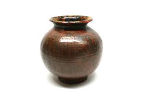 Keramik-Vase-Erna-Steinberg-Bildhauerin-Nbg-Fuerth-50er-Jahre