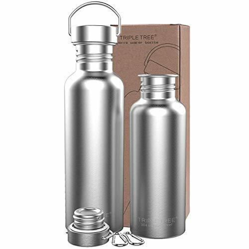 Stainless Steel Water Bottle 1000ml Sports Water Bottle Metal Water Drinking