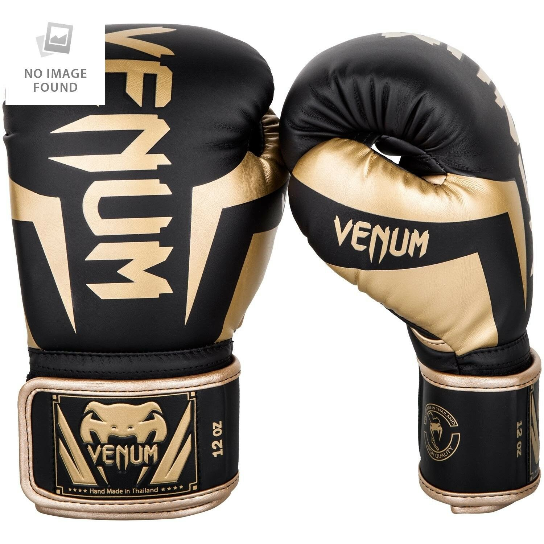 Venum Elite Boxhandschuhe, Schwarz / / / Gold, 12oz 2b5821