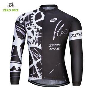 Image is loading Men-s-Cycling-Clothing-Bicycle-Jersey-Sportswear-Long- 3871c536b