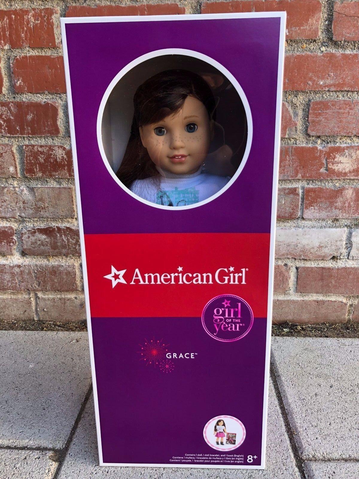 American Girl Muñeca de Gracia (2015 muñeca del año) totalmente Nuevo En Caja    - la recogida