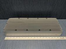 Large Aluminum Heatsink 19 Long X 6 78 Wide X 3 Tall 28 Fins 15 Lbs 12 Oz