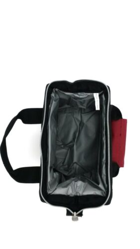 Top carry handle Front pocket Insulated Lunch Bag Cooler,Wide open top design